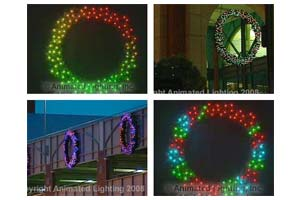 Animated Wreaths